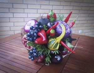 Букет из овощей с капустой цена 3500р