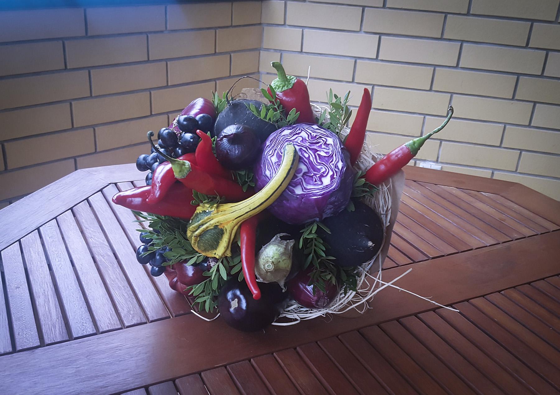 Букеты из овощей и цветов своими руками 280