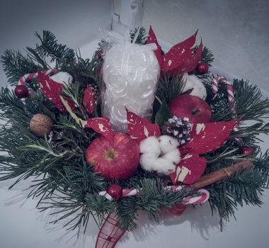 Новогодняя композиция цена 3000р