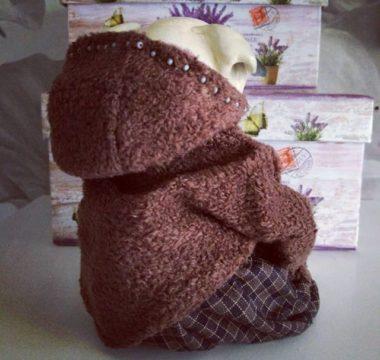 Авторская интерьерная игрушка МОПС цена 8.500р