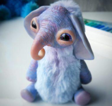 Авторская игрушка «Слоняш» Продан