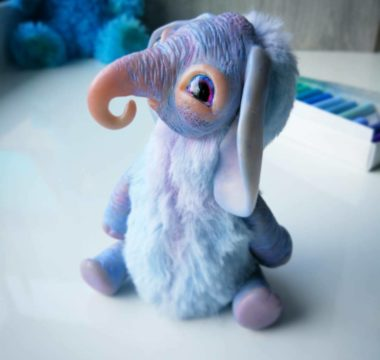 Авторская игрушка «Слоняш» цена Продан