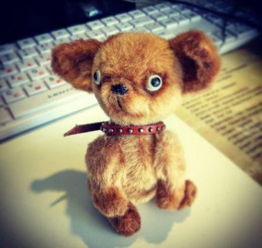 Авторская интерьерная игрушка «Чихуахуа» цена 4500р