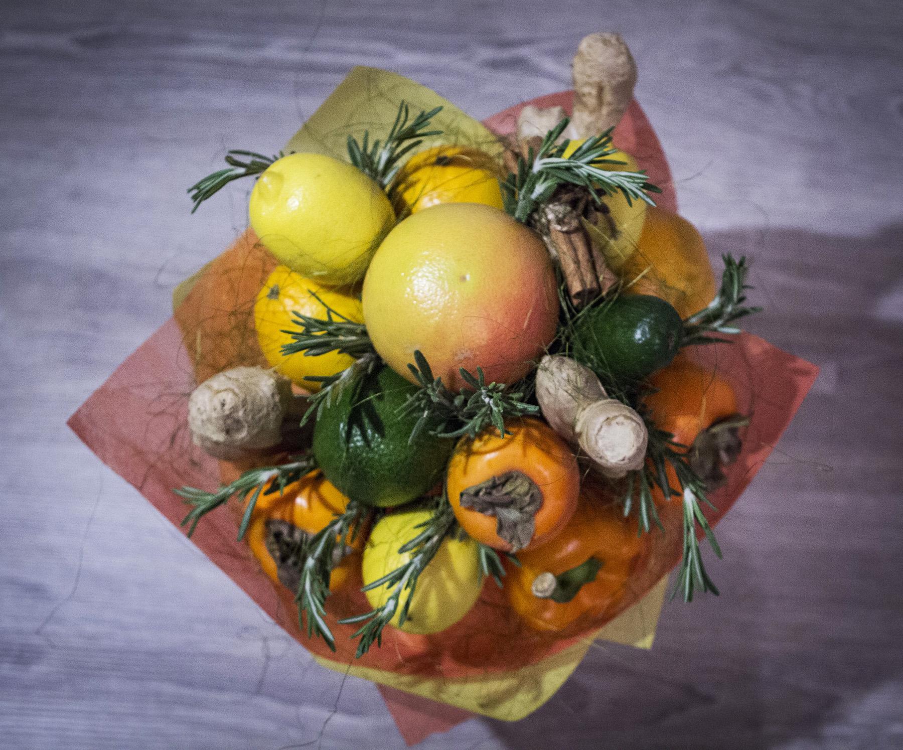 Купить, букет из лимонов как сделать
