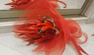 Букет с перцами «ПреКрасный» цена 2000р