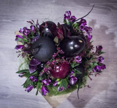 Букет из овощей «Черный Принц 2» цена 3000р